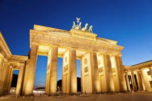 Nemački jezik-Berlin, Brandenburška kapija